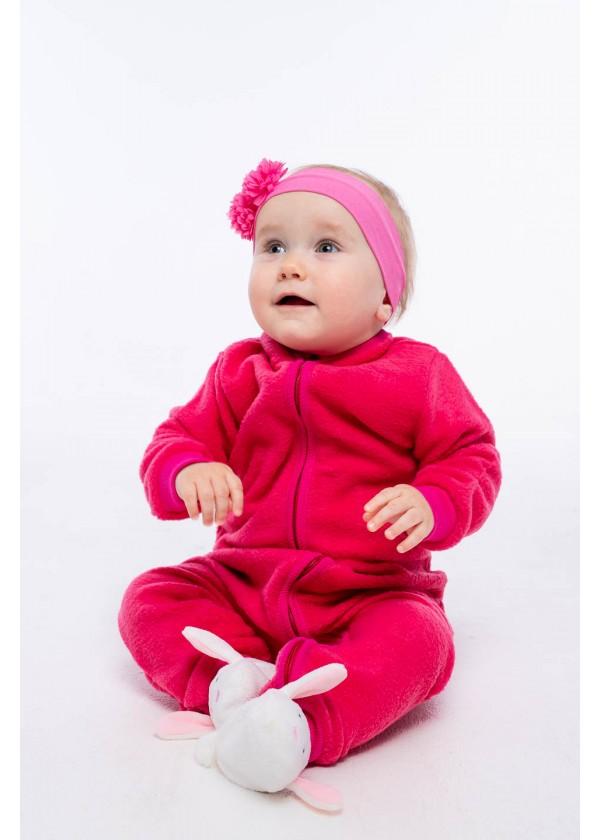 Комбинезон для малышей - К-20484W_малиновый