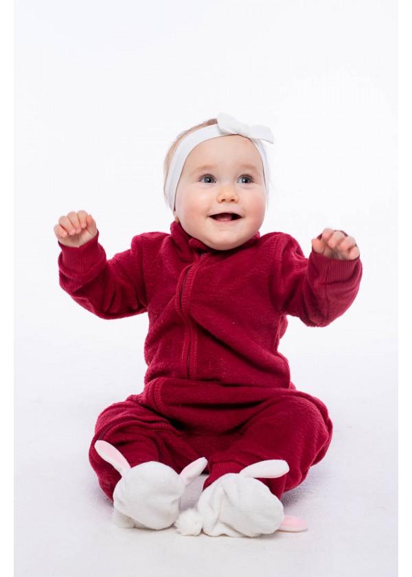 Комбинезон для малышей - К-20484W_бордовый