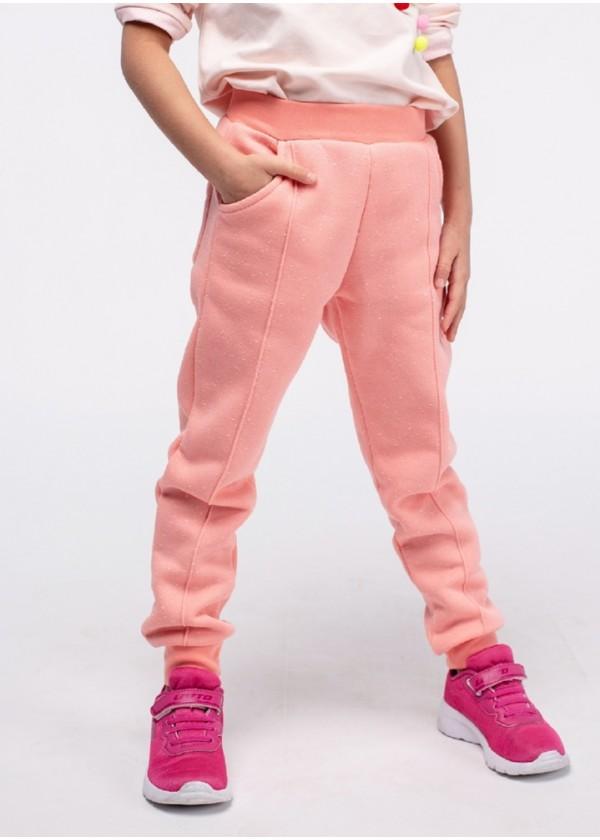 Штаны для девочек - G-19148W_персиковый