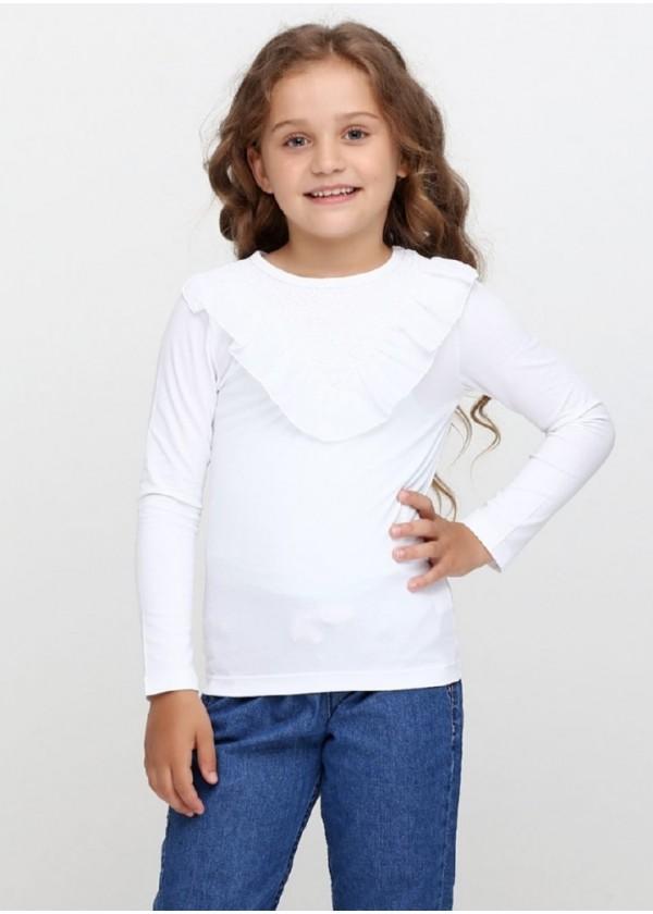 Кофта для девочек - G-18576W_белый