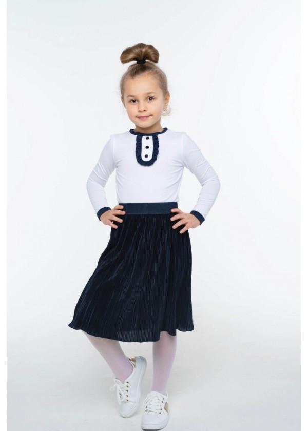 Юбка для девочек - G-21873W_синий