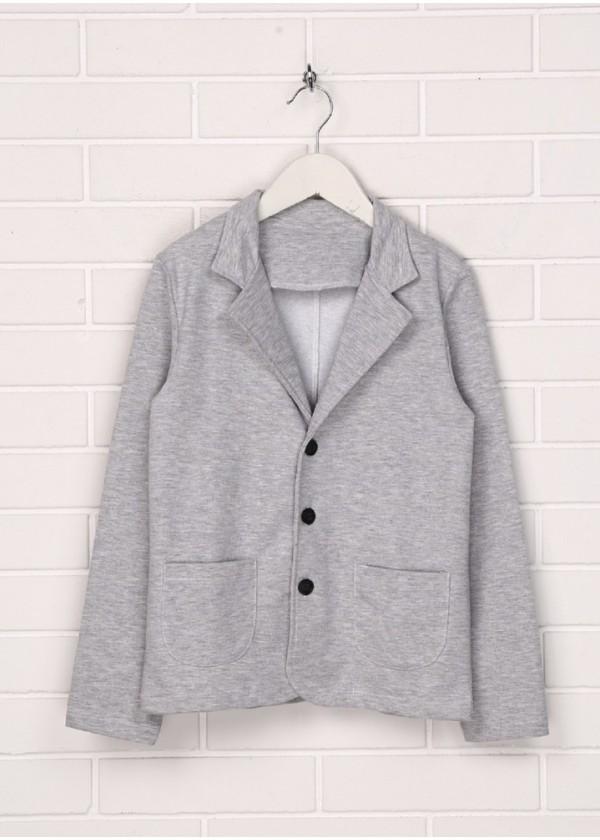 Піджак для хлопчиків - В-15322W_меланж