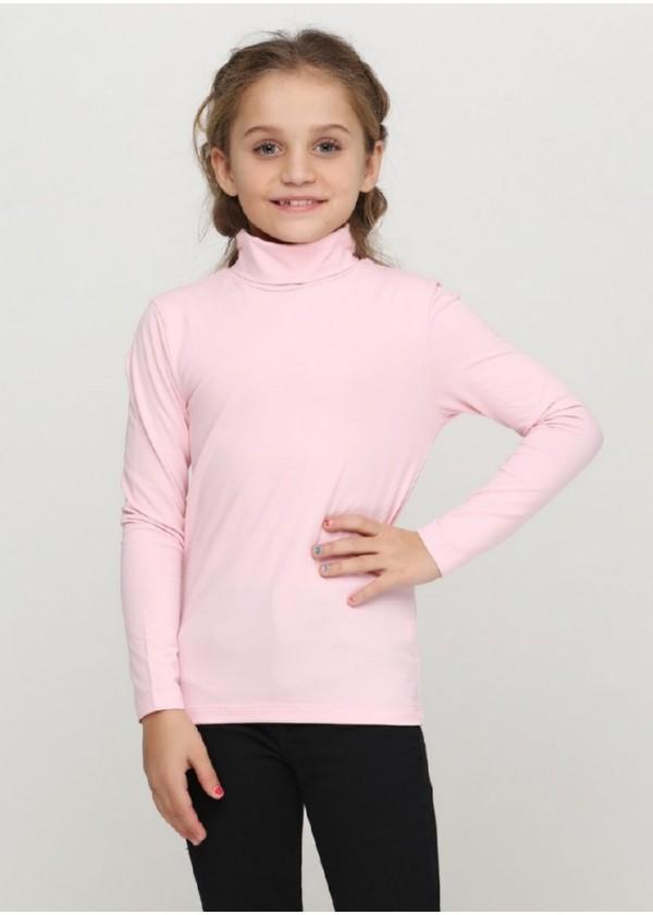 Гольф для девочек - G-18584W_розовый