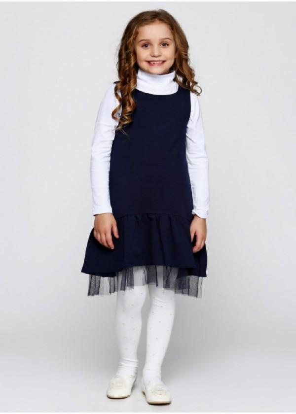 Сарафан для девочек - G-17046W1_синий