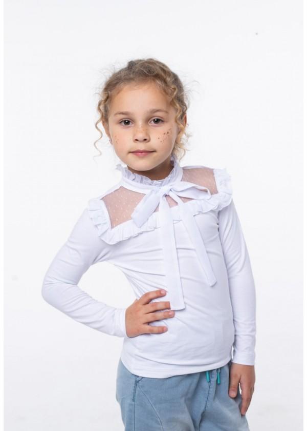 Кофта для девочек - G-20923W_белый