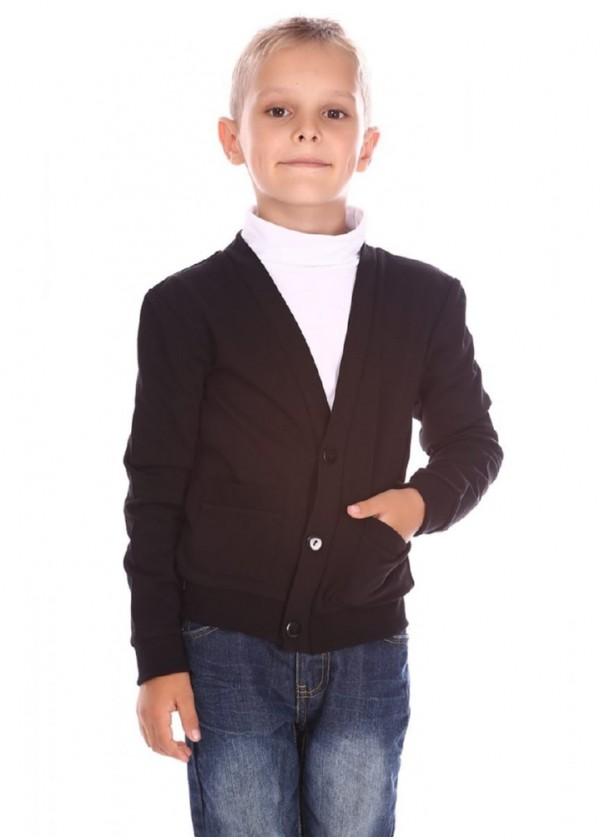 Кардиган для мальчиков - В-14410_черный
