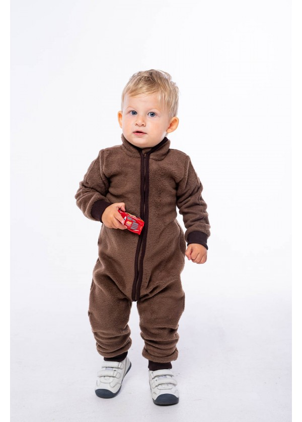 Комбинезон для малышей - К-20484W_коричневый