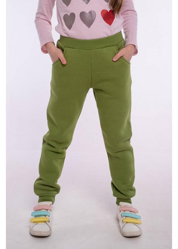 Штаны для девочек - G-21154W_зеленый