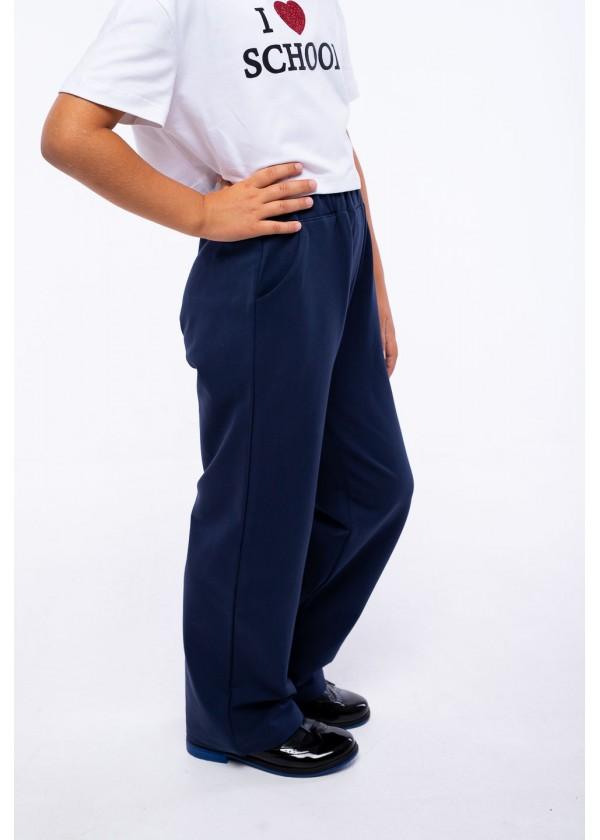 Штаны для девочек - G-21152W_синий