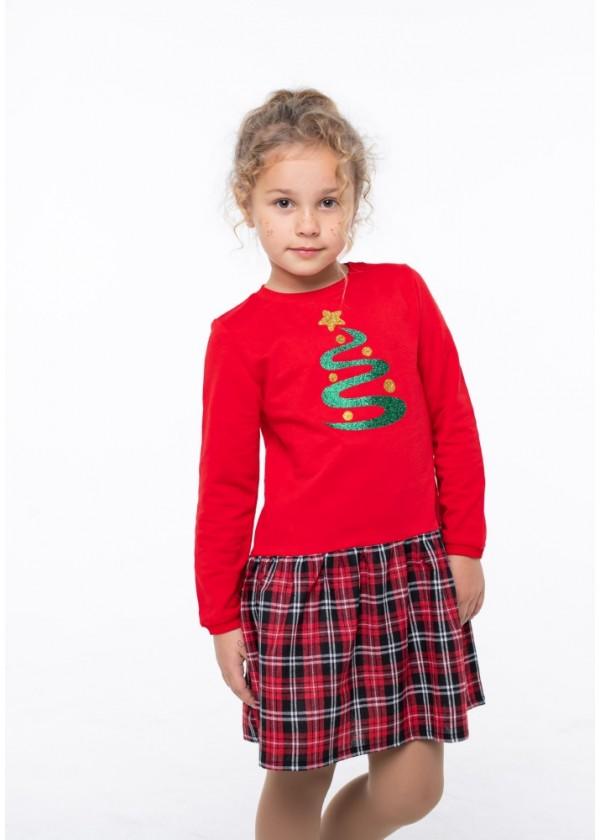 Платье для девочек - G-20866W_красный
