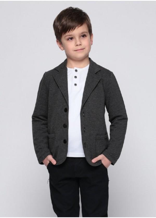 Піджак для хлопчиків - В-15322W_серый