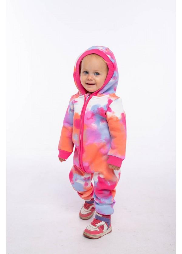 Комбинезон для малышей - К-21494W_розовый