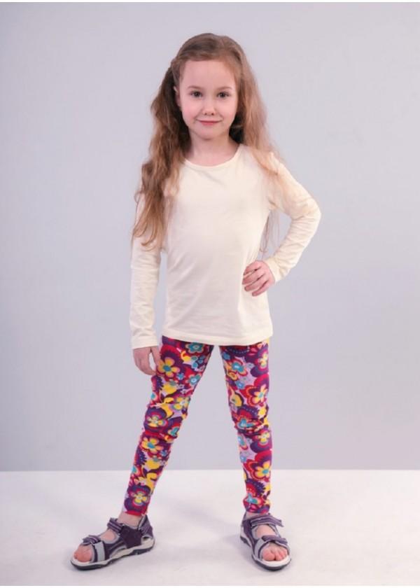Легінси для дівчаток - G-19141W_фиолетовый
