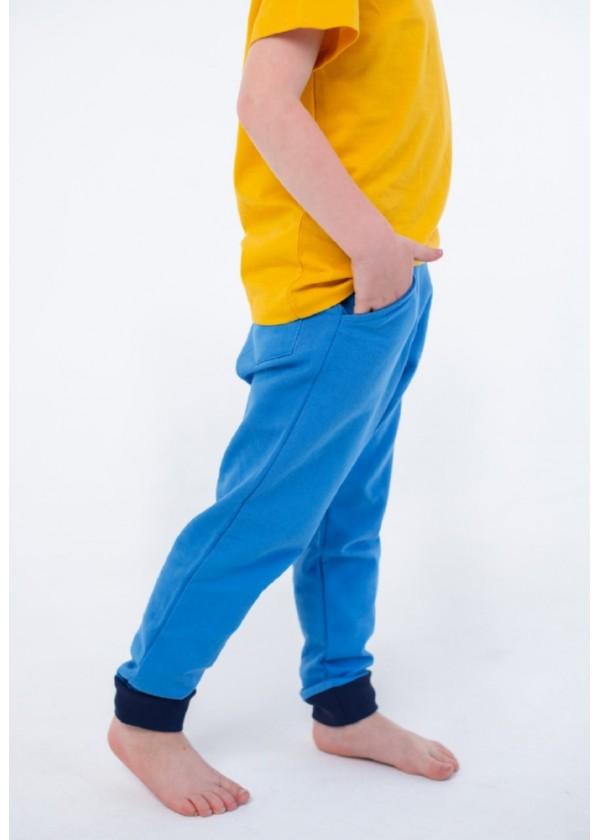 Штани для хлопчиків - B-19478W_синий