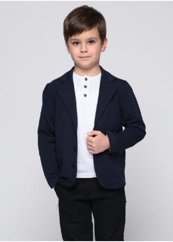 Піджак для хлопчиків - В-15322W_синий