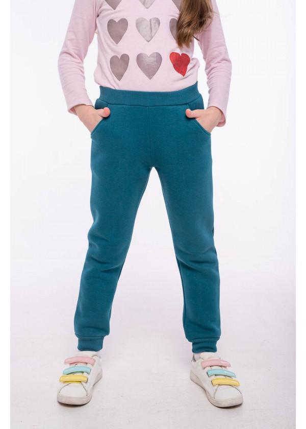 Штаны для девочек - G-21154W_т.бирюзовый