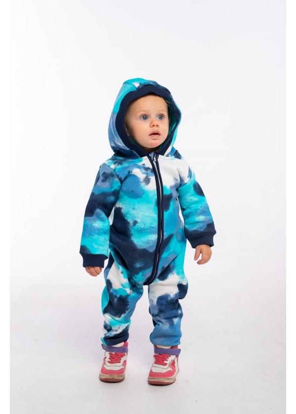 Комбинезон для малышей - К-21494W_синий