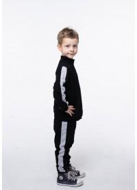 Костюм для мальчиков - В-20630W_черный