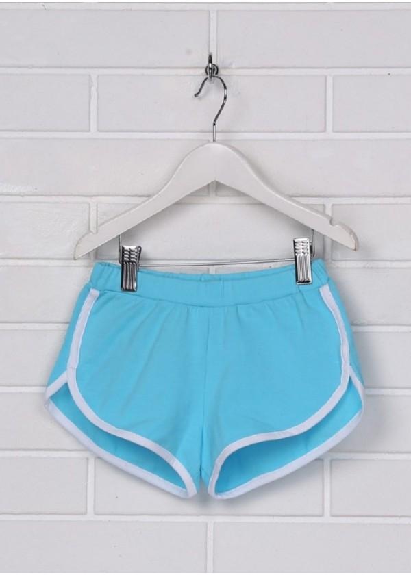 Шорти для дівчаток - G-19146W_голубой
