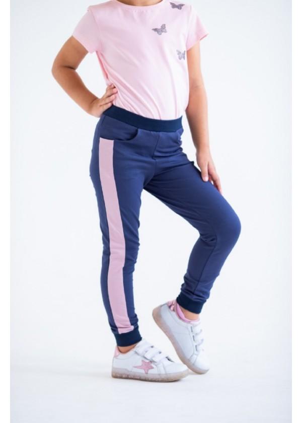 Штаны для девочек - G-20149W_синий