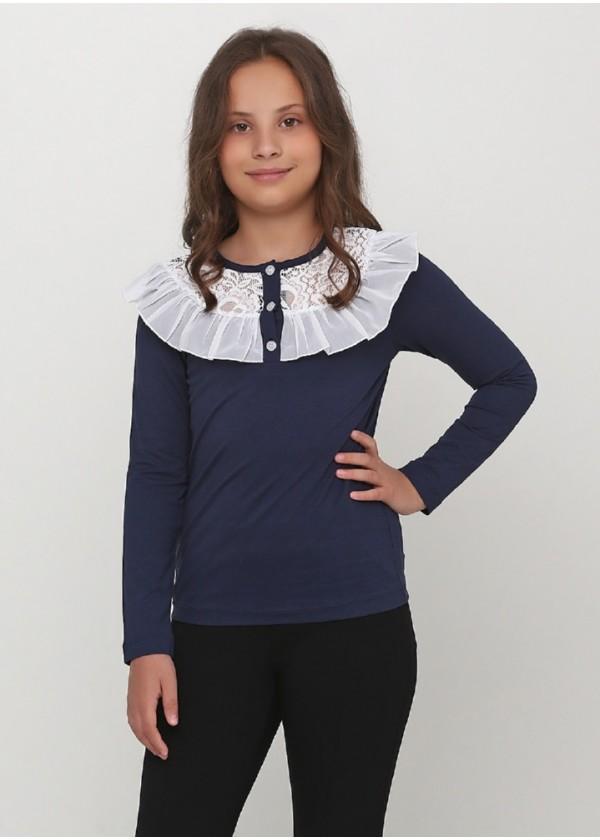 Кофта для девочек - G-19599W_синий