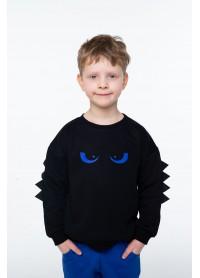 Костюм для мальчиков - B-21640W_черный+синий