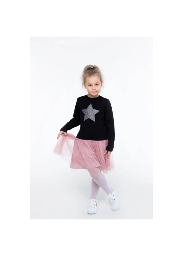 Платье для девочек - G-20869W_черный