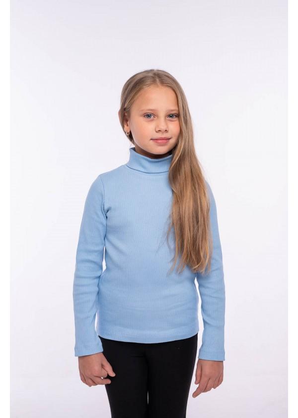 Гольф для девочек - G-21939W_голубой