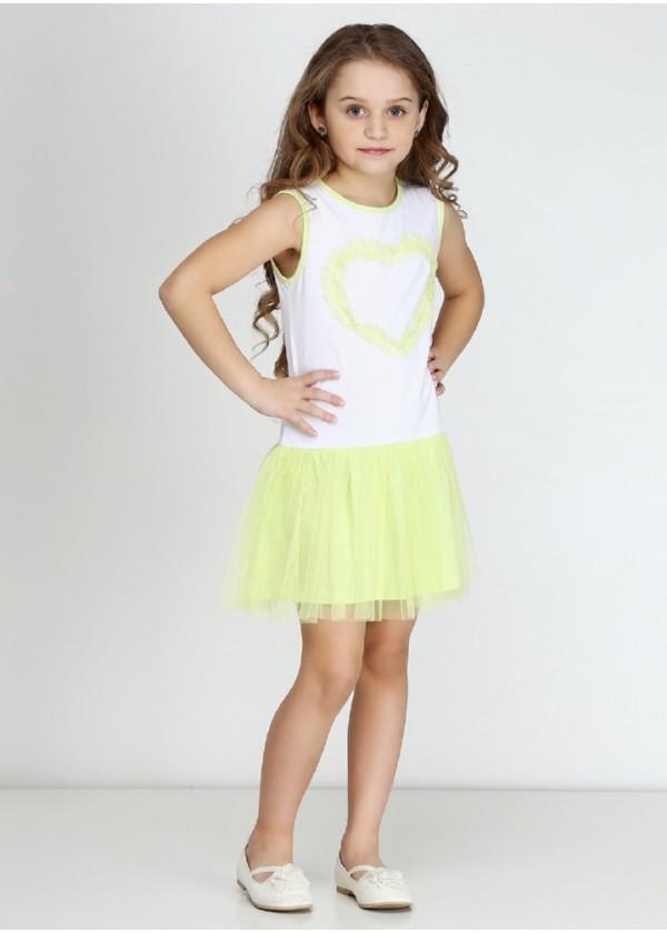 Сарафан для девочек - G-16096S_салатовый