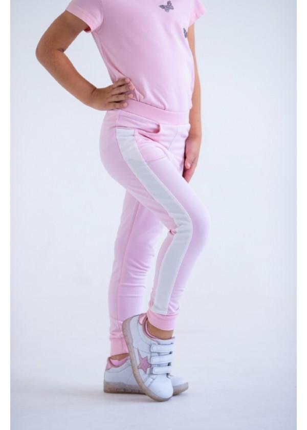 Штаны для девочек - G-20149W_розовый