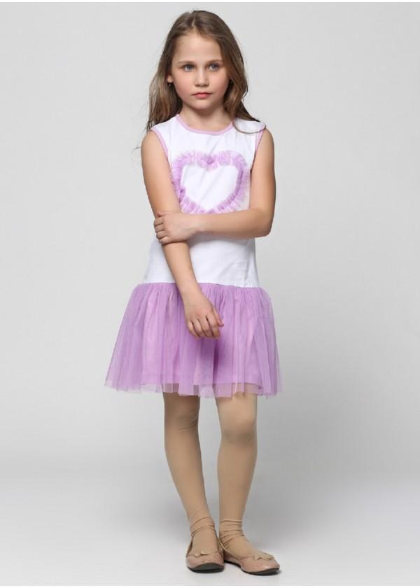 Сарафан для девочек - G-16096S_сиреневый
