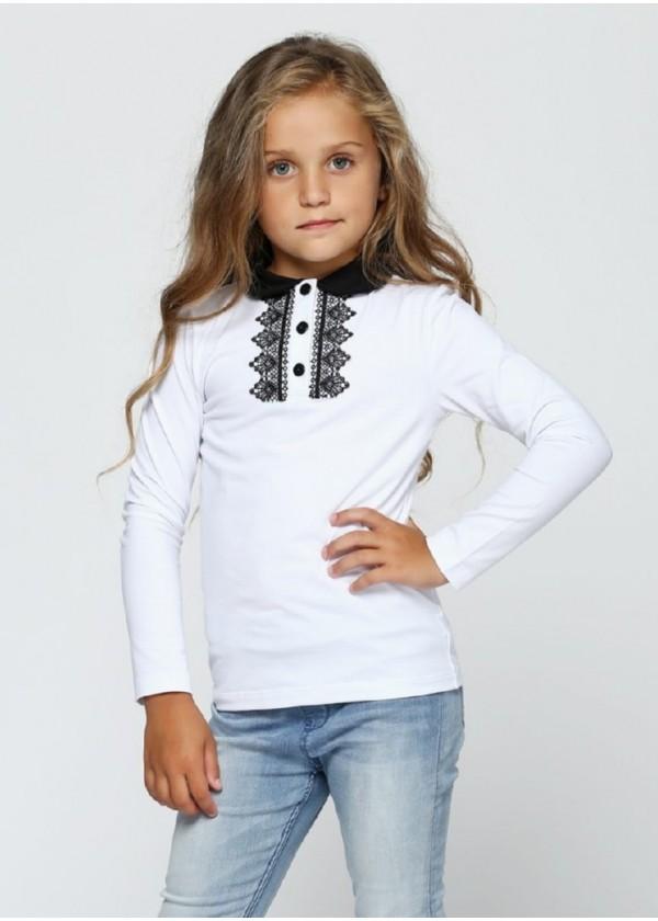 Кофта для дівчаток - G-17550W_белый