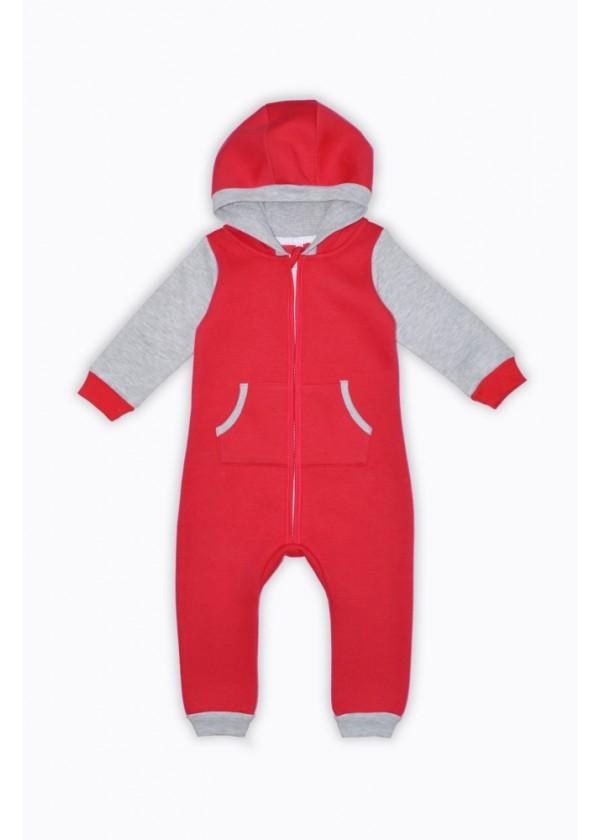 Комбинезон для малышей - К-20481W_красный