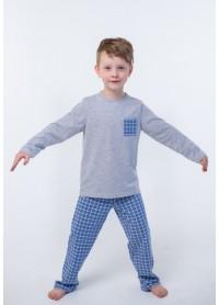 Піжама для хлопчиків - В-19621W_серый