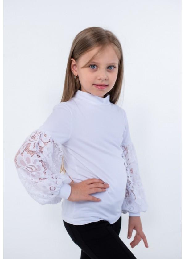 Кофта для девочек - G-20922W_белый