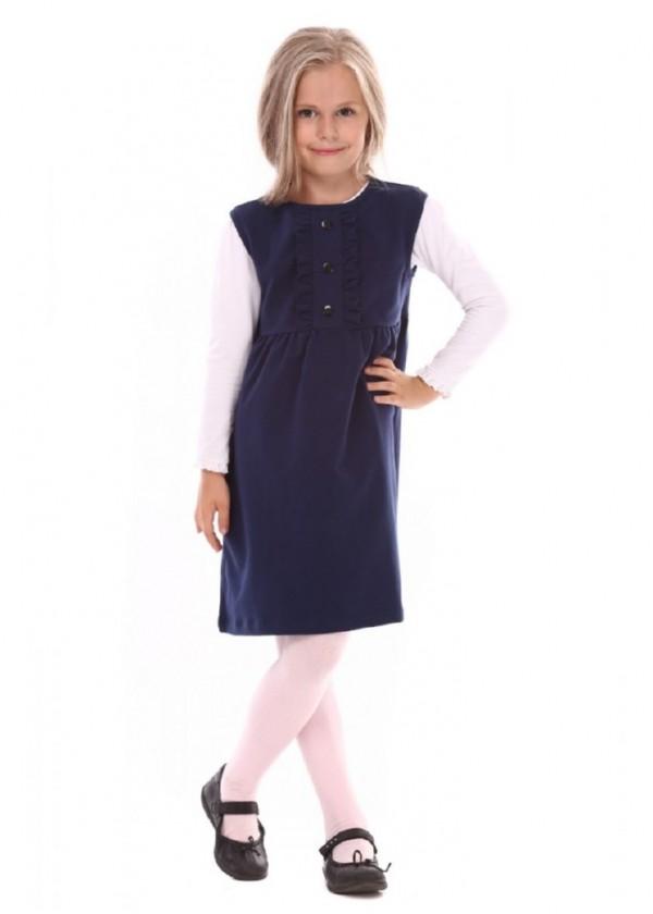Сарафан для дівчаток - G-15084_синий