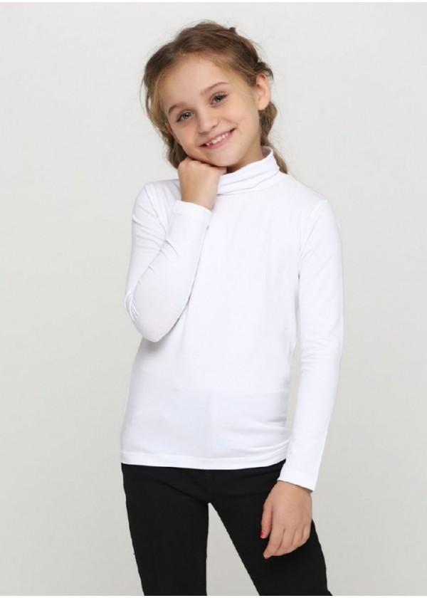 Гольф для девочек - G-18584W_белый