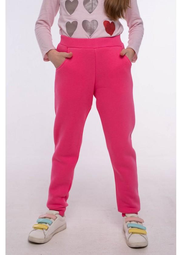 Штаны для девочек - G-21154W_розовый