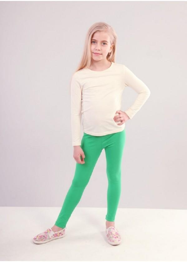 Легінси для дівчаток - G-19140W_зеленый