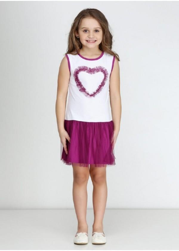 Сарафан для девочек - G-16096S_фиолетовый