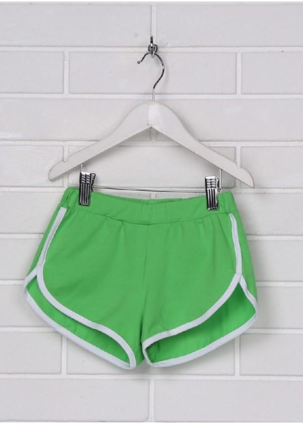 Шорти для дівчаток - G-19146W_зеленый