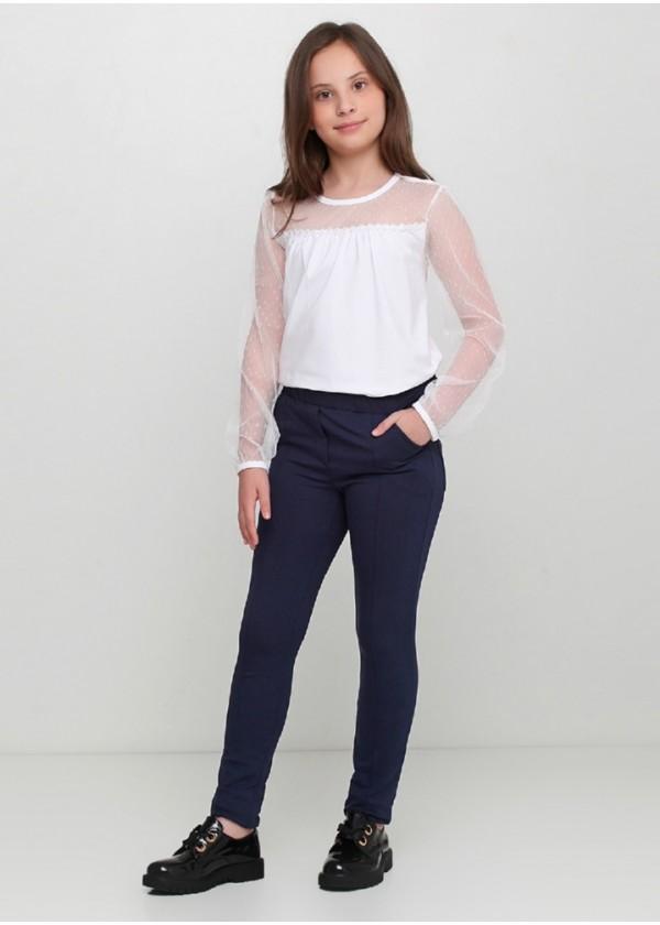 Штани для дівчаток - G-19145W_синий