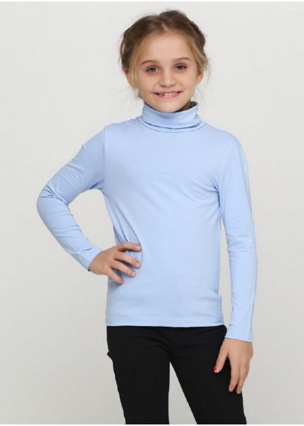 Гольф для девочек - G-18584W_голубой