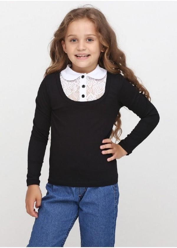 Кофта для девочек - G-18575W_черный